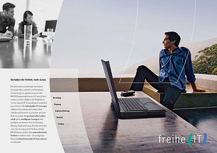 beispiel image broschre profi ag aus dem print bereich von ralf kopp - Imagebroschure Beispiele